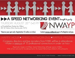 NWAYP Speed Networking Event