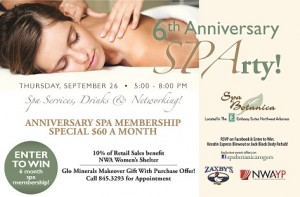 NWAYP / Spa Botanica - Open House & Networking Event
